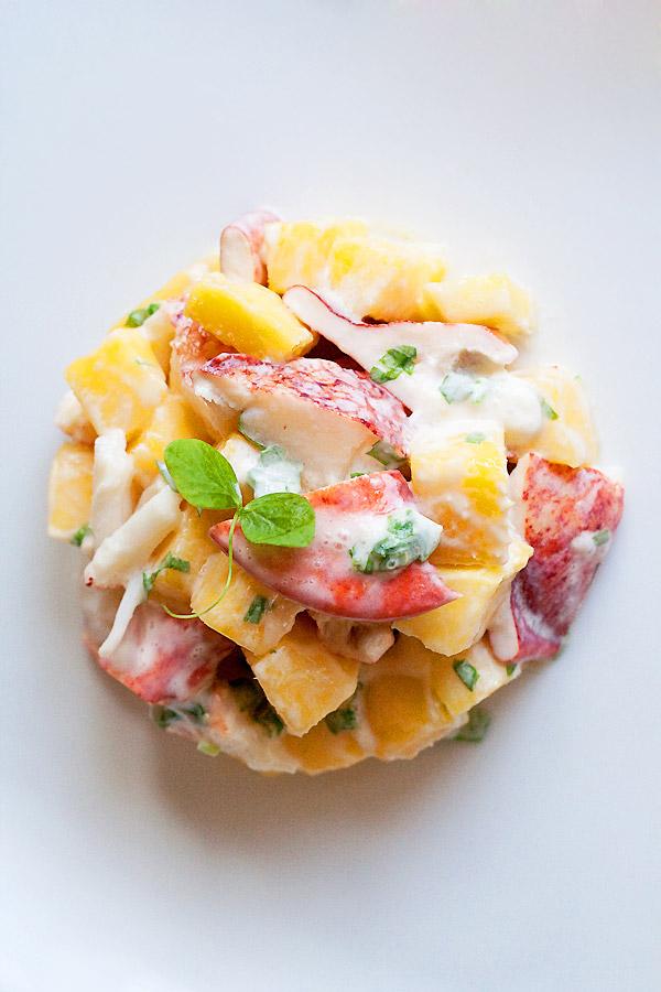 Lobster and Mango Salad