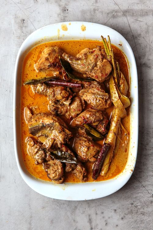 Padang-Style Chicken Curry
