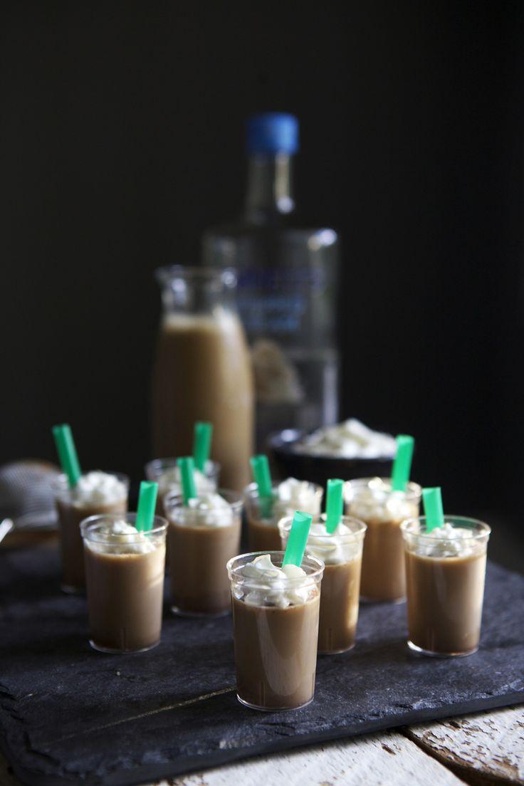 Pumpkin Spice Latte Jello Shots