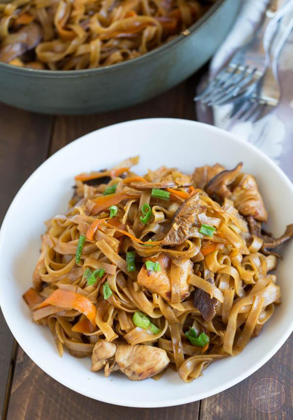Thai Chicken Curry Noodles