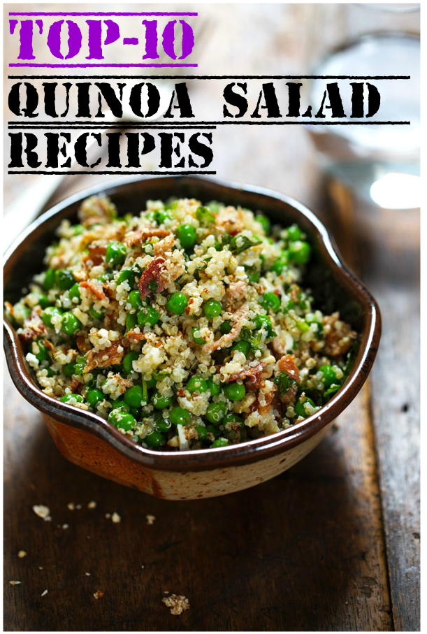 Top-10 Quinoa Salad Recipes