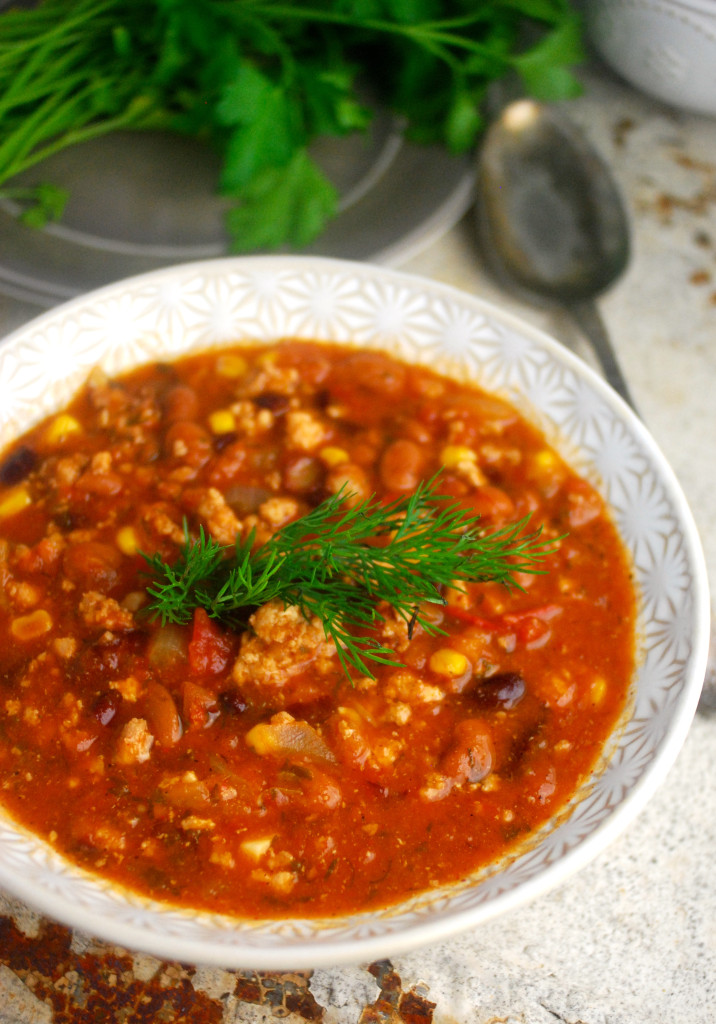 Clean Eating Taco Soup