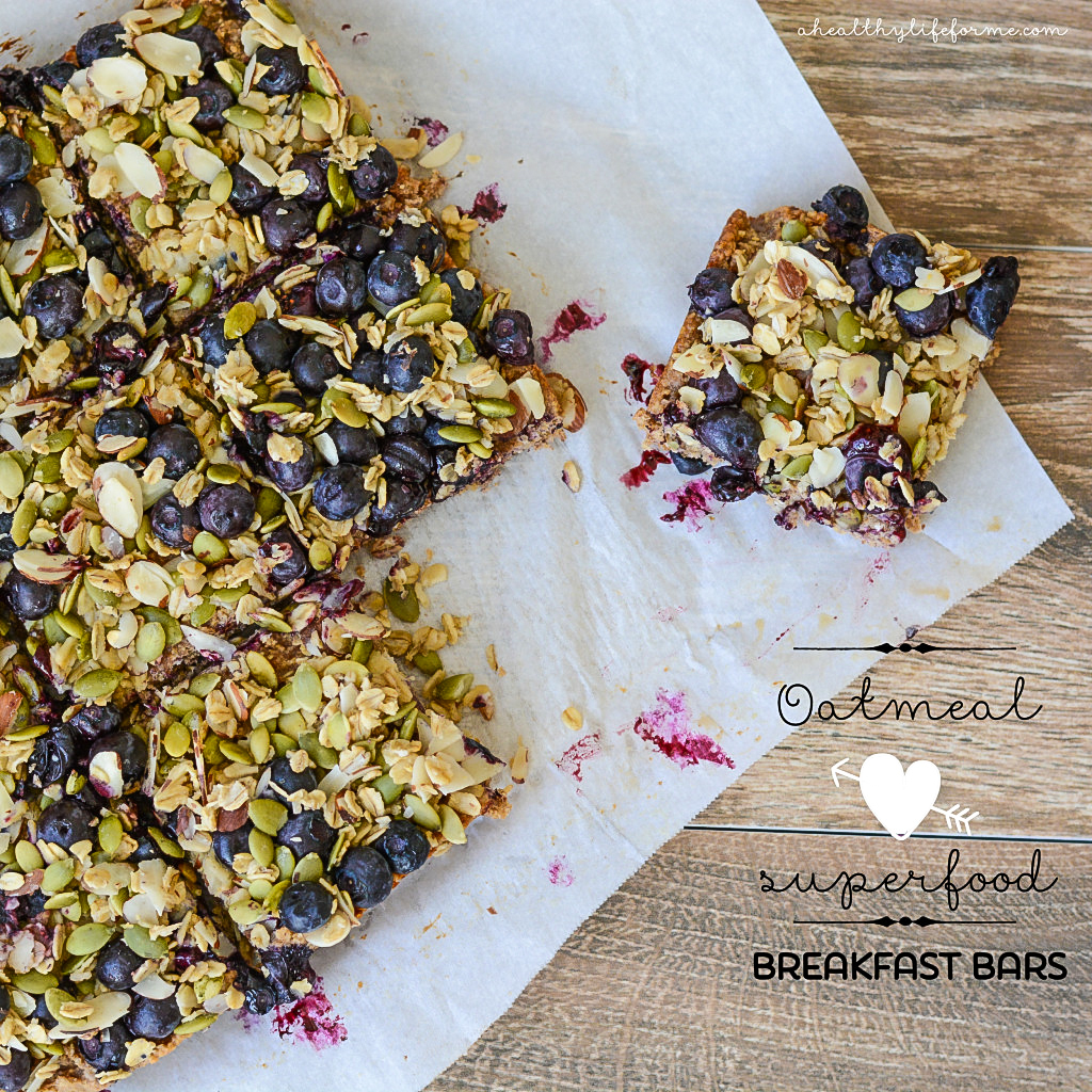Oatmeal Superfood Breakfast Bars