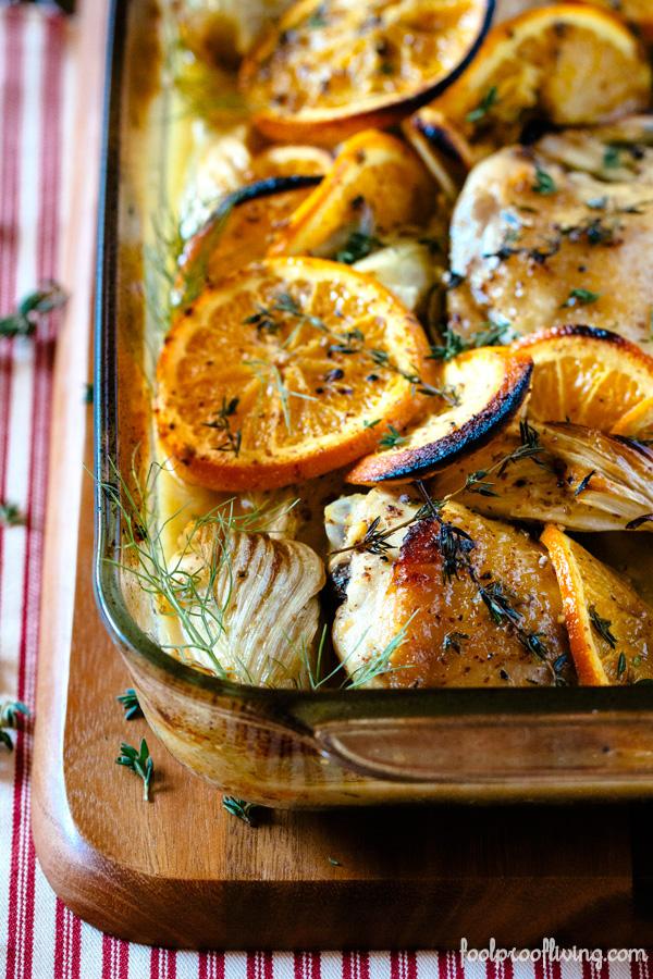 Oven-Roasted Orange Chicken