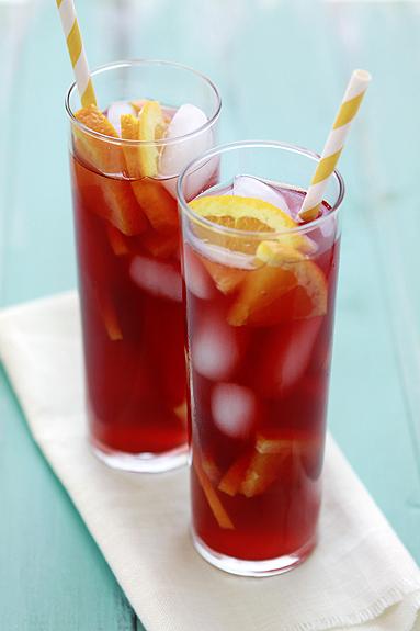 Raspberry Long Island Ice Tea