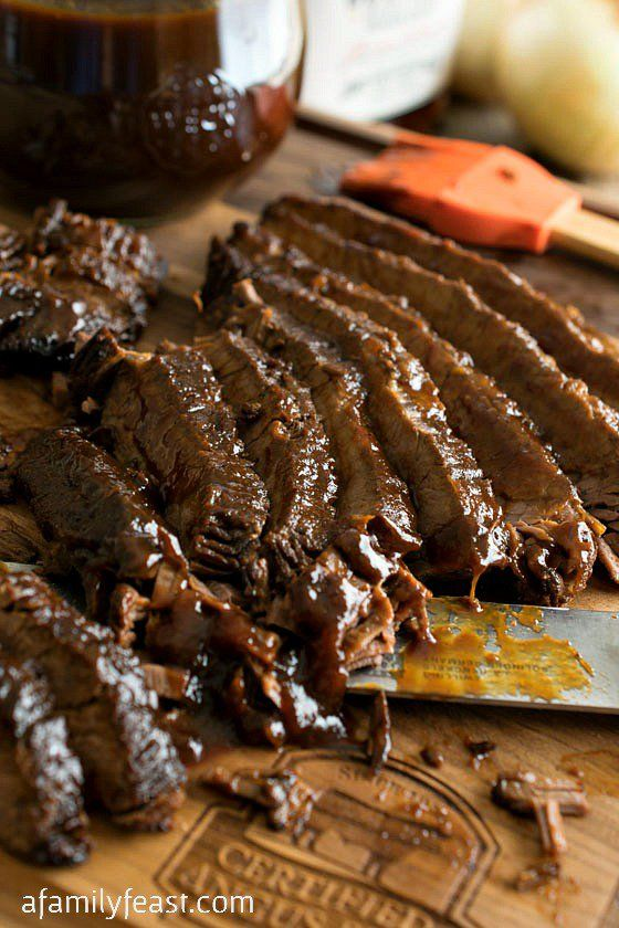 Slow Cooker Barbecue Beef Brisket