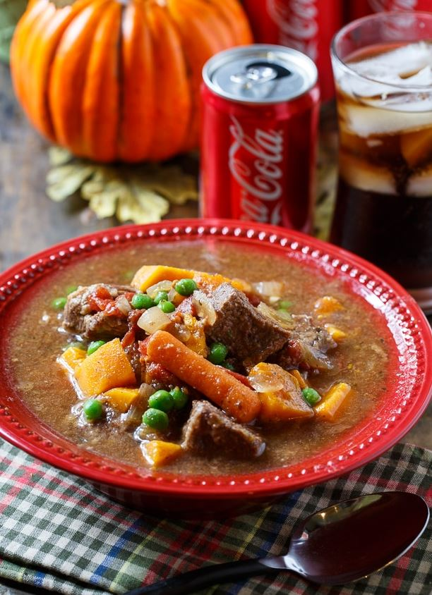 Slow Cooker Beef Stew with Coke®