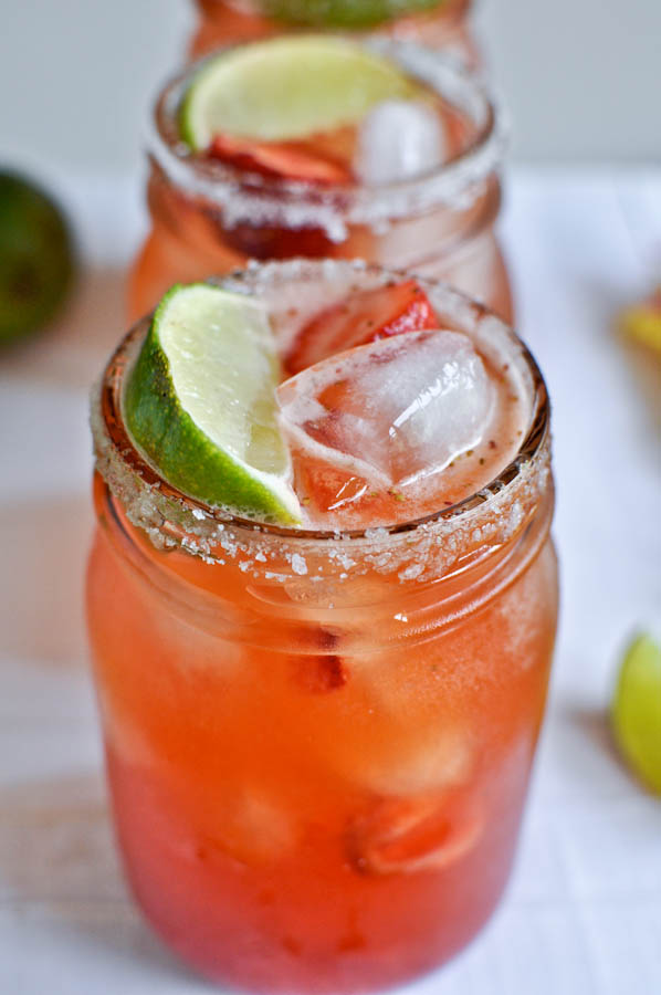 Strawberry Long Island Iced Tea