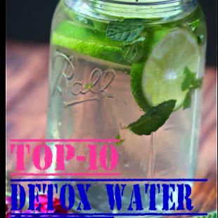 Top-10 Detox Water Recipes