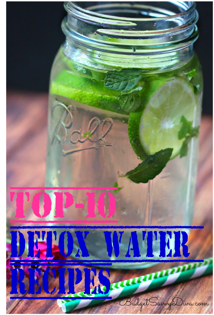 Top-10 Detox Water Recipes