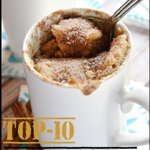 Top-10 Mug Cake Recipes