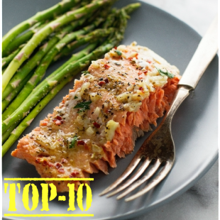 Top-10 Salmon Recipes