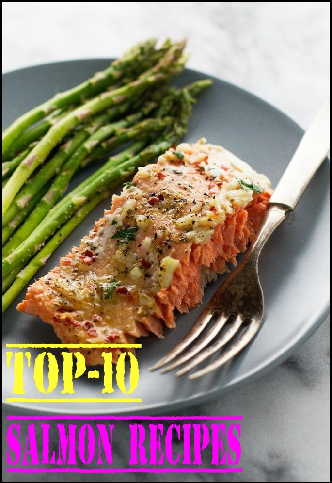 Top-10 Salmon Recipes