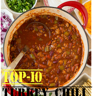 Top-10 Turkey Chili Recipes