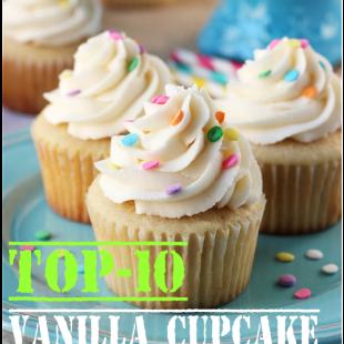 Top-10 Vanilla Cupcake Recipes