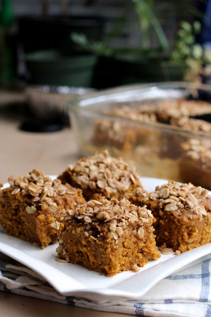 Vegan Pumpkin Banana Breakfast Cake