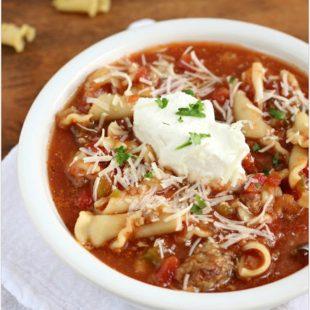 Top-10 Lasagna Soups Recipes