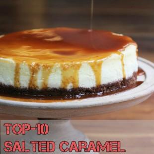 Top-10 Salted Caramel Recipes