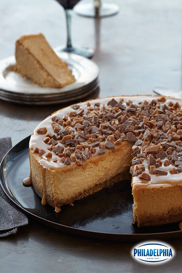 Triple Caramel Cheesecake