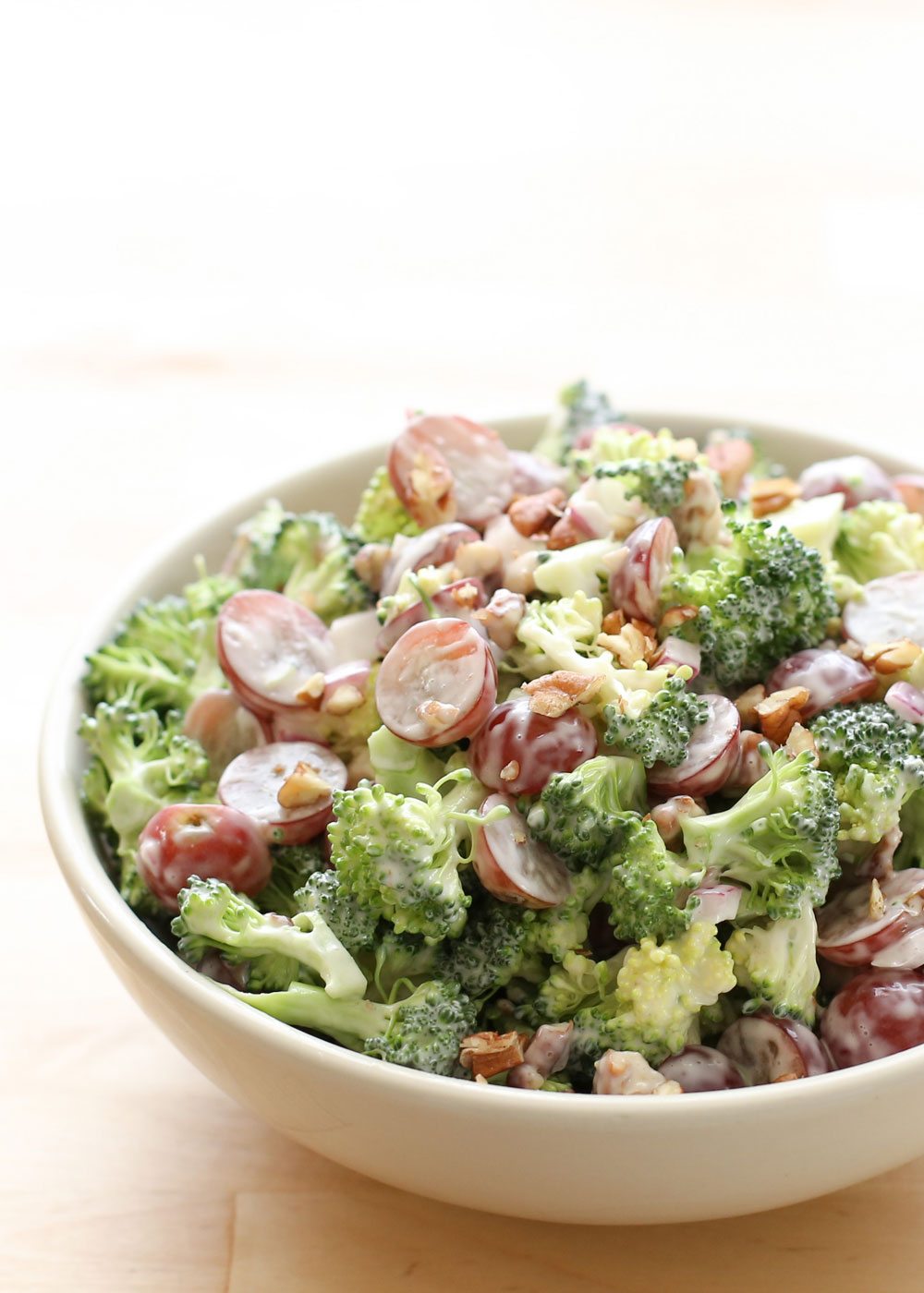 Broccoli Salad with Grapes