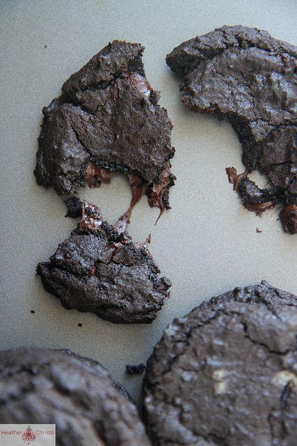 Dark Chocolate and Guinness Cookies