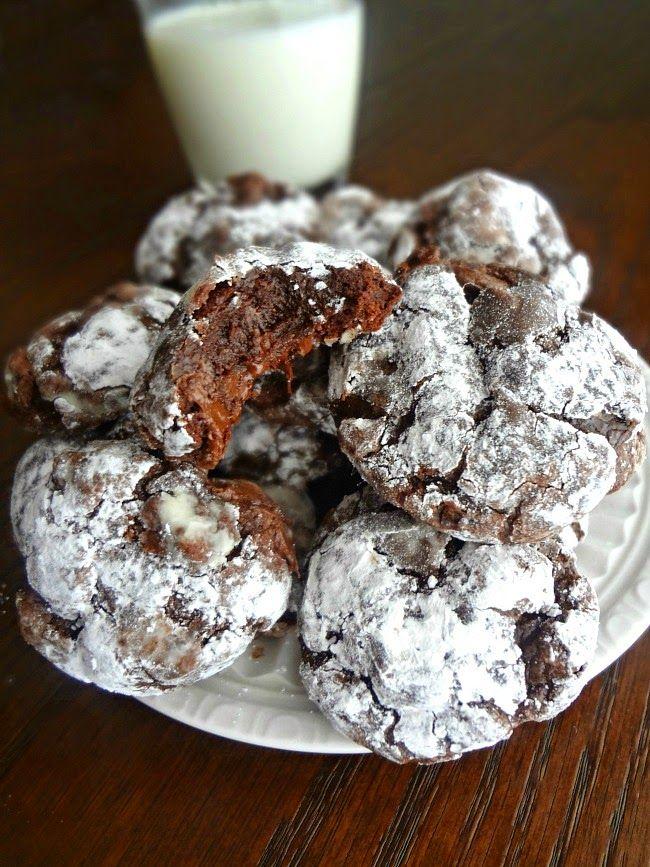 Flourless Dark Chocolate Cookies