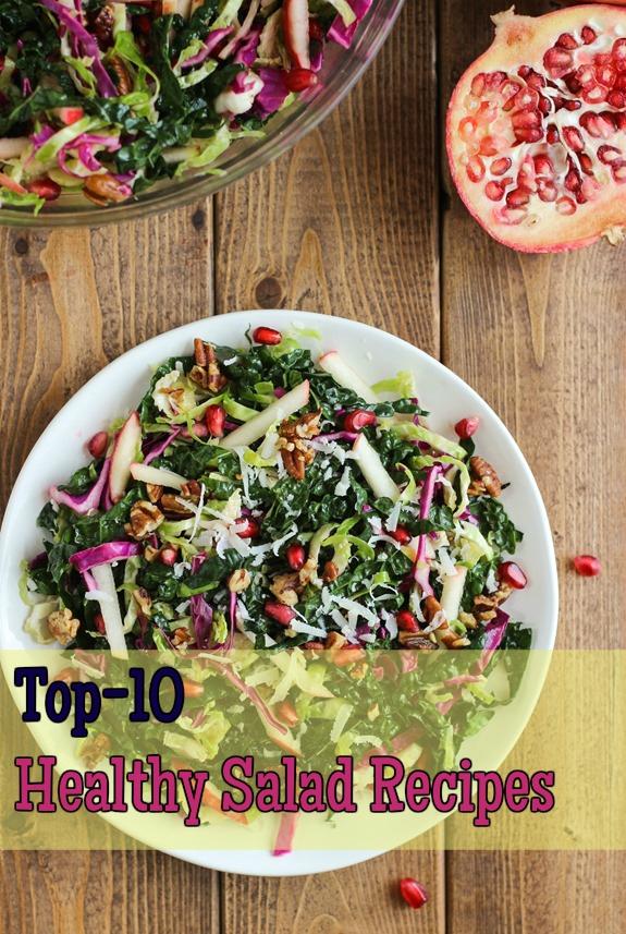 Top-10 Healthy Salad Recipes