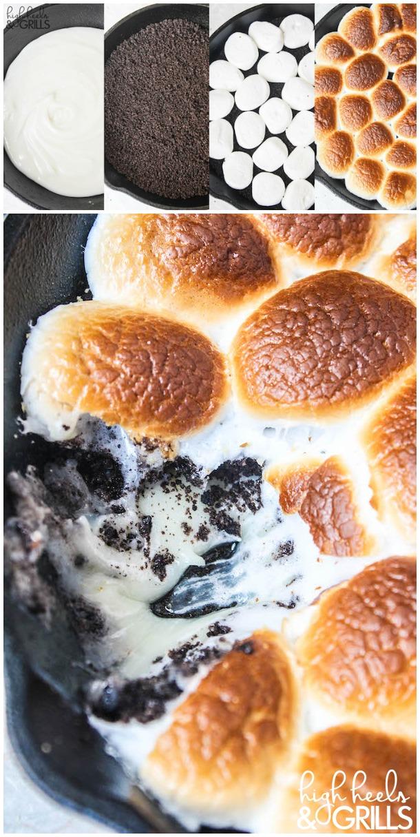 Cookies and Cream Smores Dip Recipe