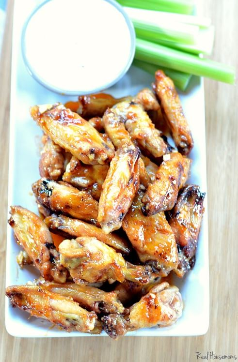 Grilled Honey Hot Wings Recipe