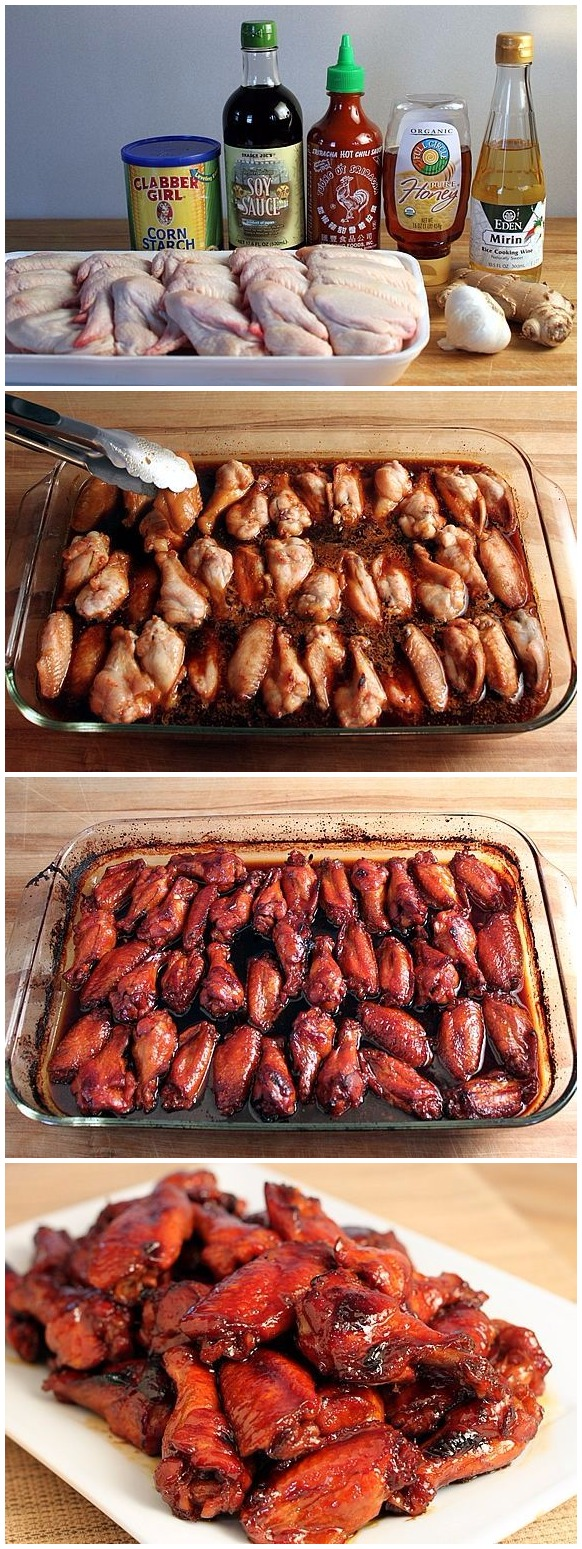 Honey Teriyaki Hot Wings Recipe