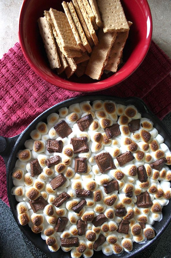 Simple Smores Dip Recipe