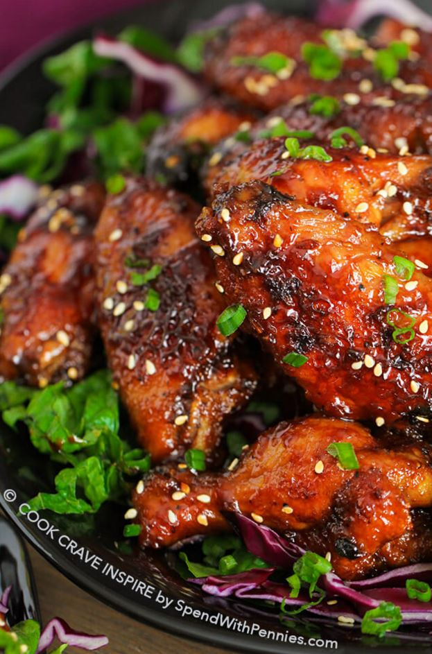 Sticky Hot Wings Recipe