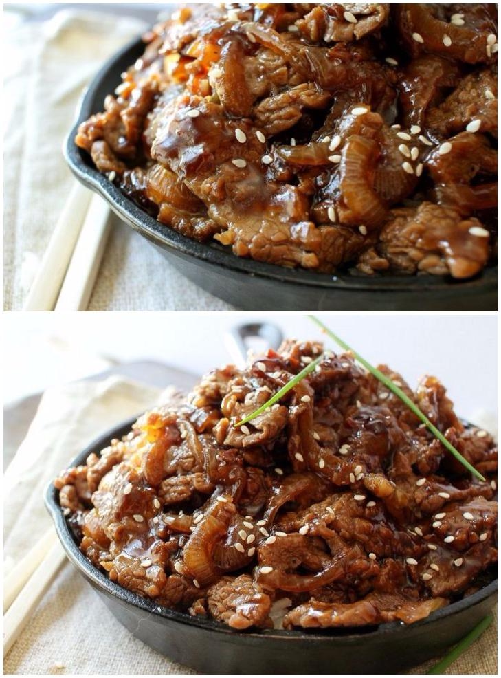 15 Minute Honey Pepper Beef Stir Fry
