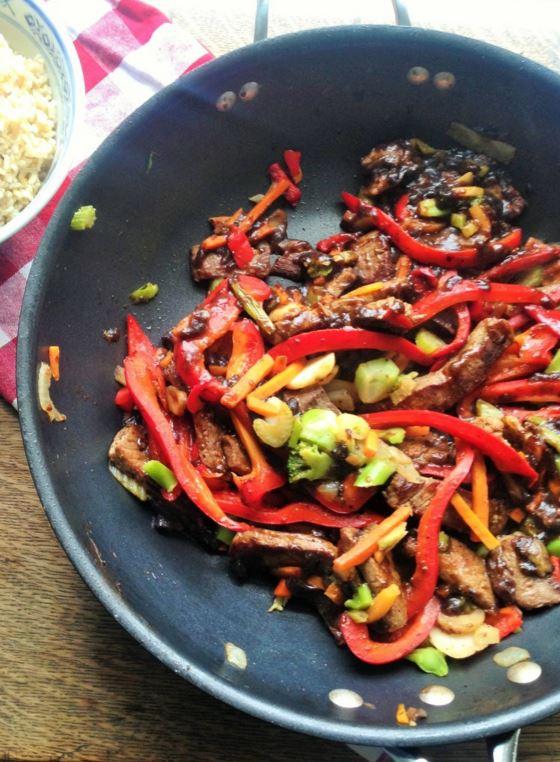 A Healthy Beef Stir Fry