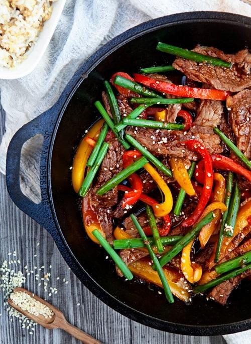 Healthy Beef Stir-Fry