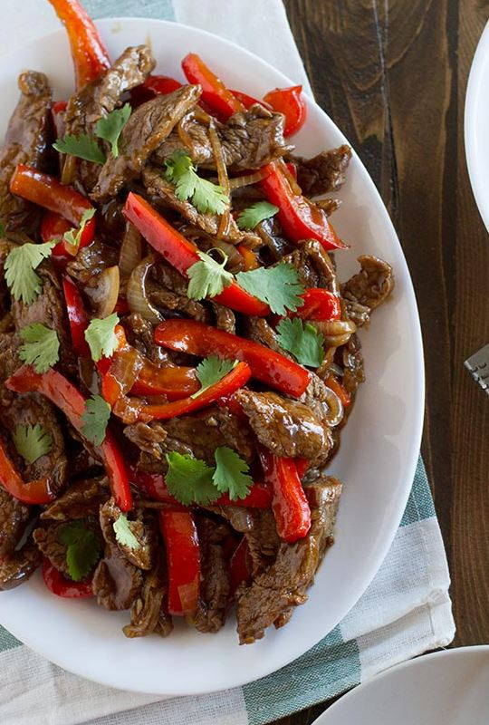 Steak Stir Fry Recipe with Peppers