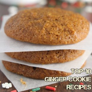 Top-10 Ginger Cookie Recipes