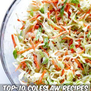 Top-10 Coleslaw Recipes