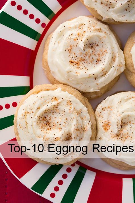 Top-10 Eggnog Recipes