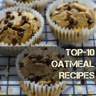 Top-10 Oatmeal Recipes