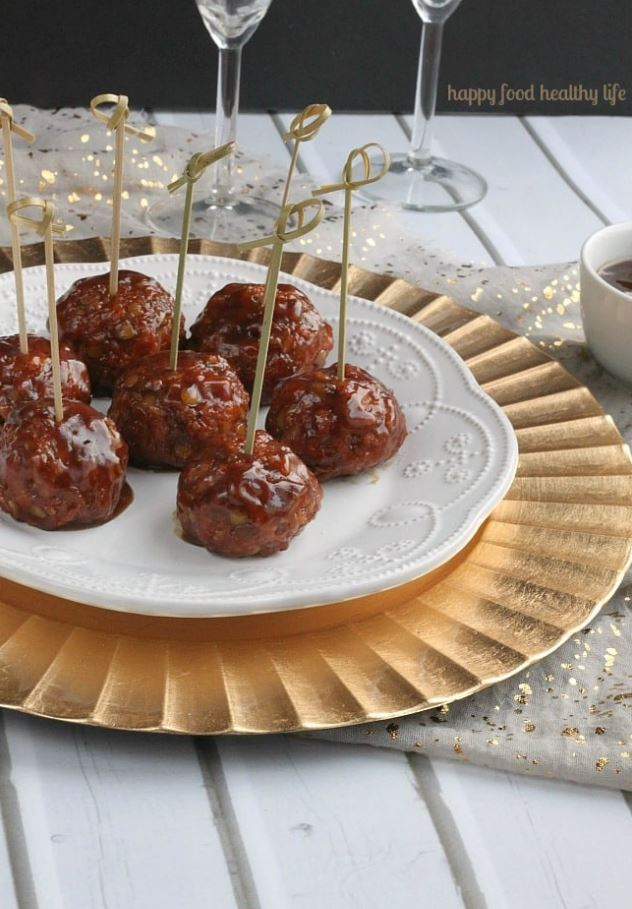 """Vegetarian Sweet and Sour Porcupine """"Meatballs"""""""